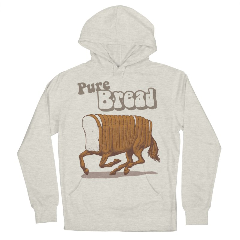Pure Bread Women's French Terry Pullover Hoody by Vincent Trinidad Art