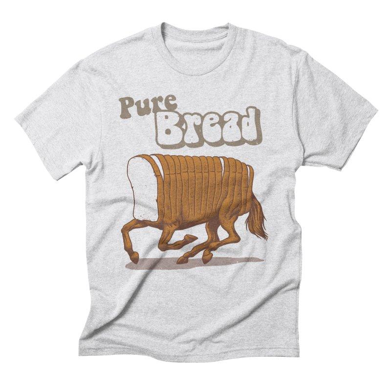 Pure Bread Men's Triblend T-Shirt by Vincent Trinidad