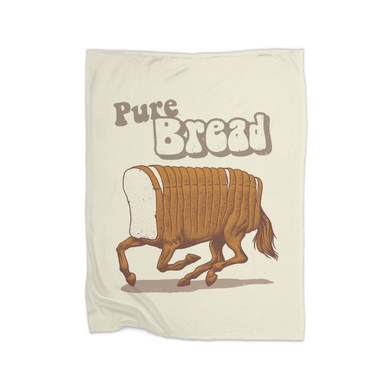 Pure Bread Home Fleece Blanket Blanket by Vincent Trinidad