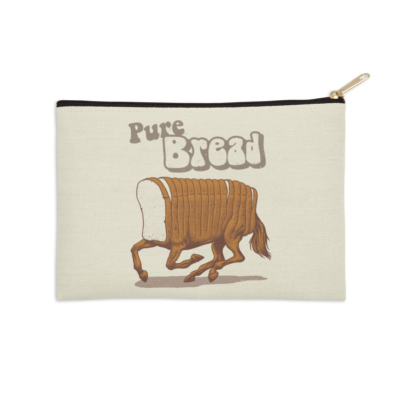 Pure Bread Accessories Zip Pouch by Vincent Trinidad
