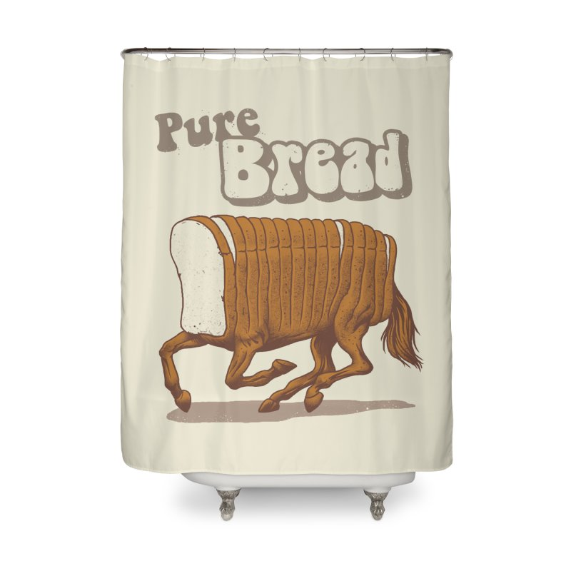 Pure Bread Home Shower Curtain by Vincent Trinidad