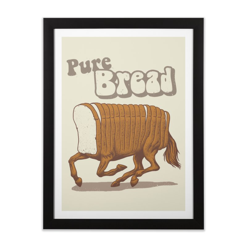 Pure Bread Home Framed Fine Art Print by Vincent Trinidad