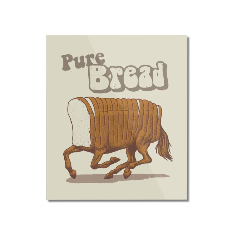 Pure Bread Home Mounted Acrylic Print by Vincent Trinidad