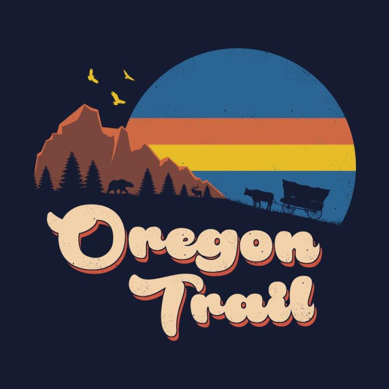 Retro Oregon Trail by Vincent Trinidad