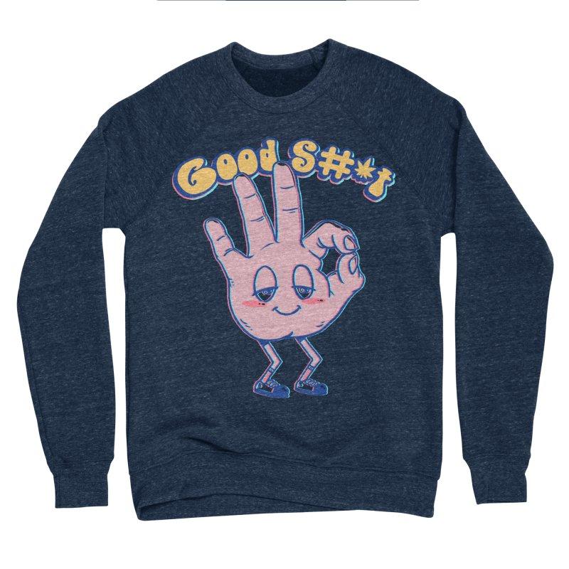 Good Sh#t Men's Sponge Fleece Sweatshirt by Vincent Trinidad