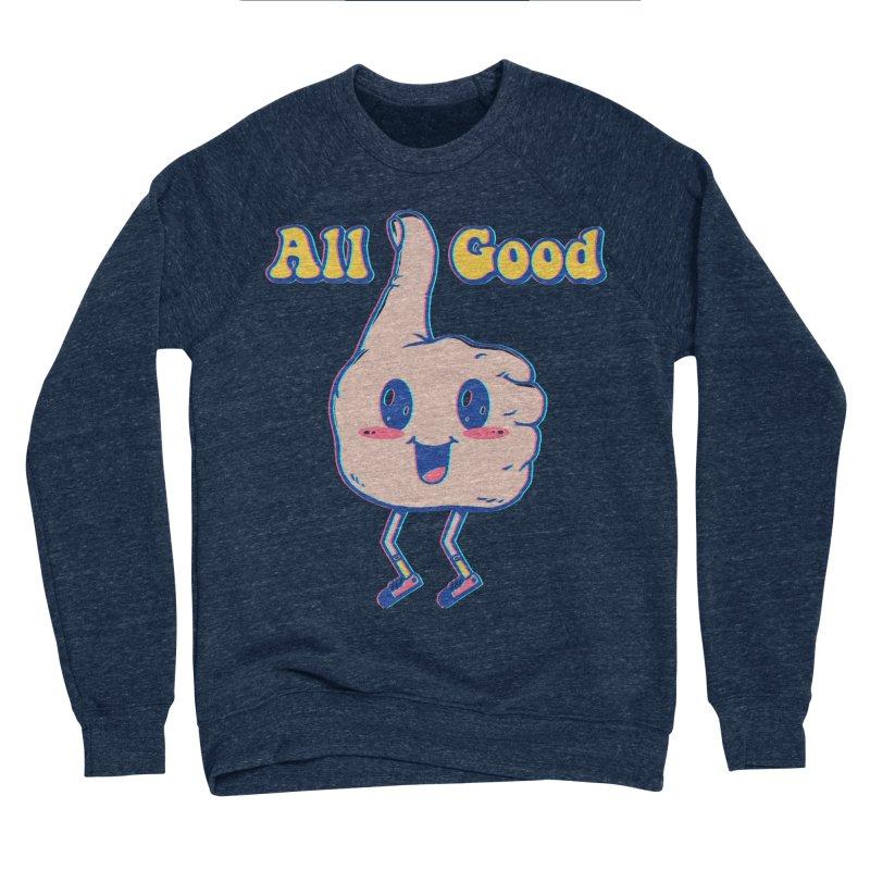 It's All Good Women's Sponge Fleece Sweatshirt by Vincent Trinidad Art