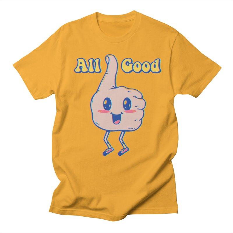 It's All Good Women's Regular Unisex T-Shirt by Vincent Trinidad