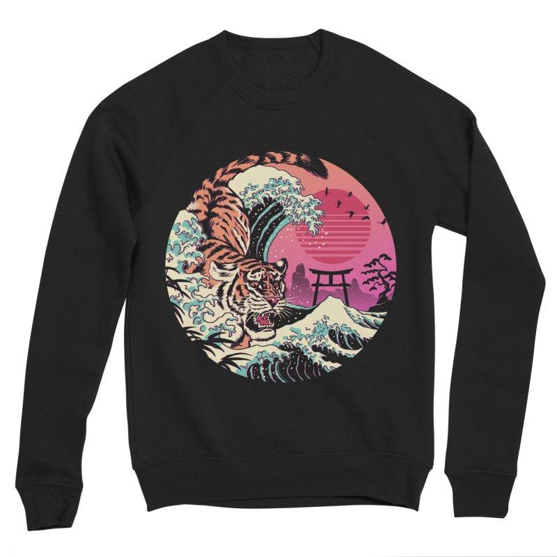 Rad Tiger Wave Men's Sponge Fleece Sweatshirt by Vincent Trinidad