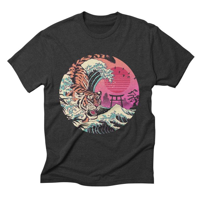 Rad Tiger Wave Men's Triblend T-Shirt by Vincent Trinidad
