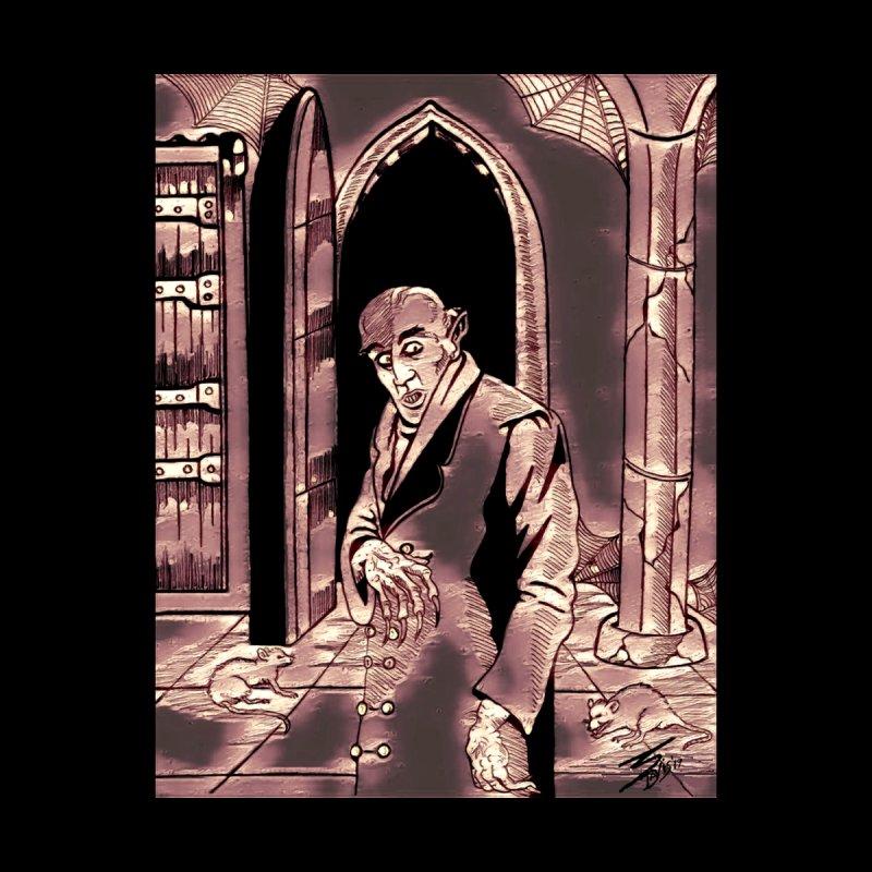 """Nosferatu In His Castle"" Men's T-Shirt by VinDavisDesigns"