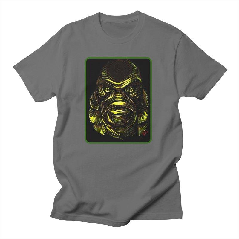 """The Creature"" Men's T-Shirt by VinDavisDesigns"