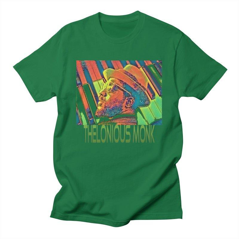 """MONK"" Men's T-Shirt by VinDavisDesigns"
