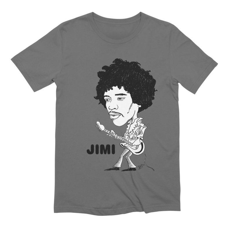 """JIMI-TOON"" Men's T-Shirt by VinDavisDesigns"
