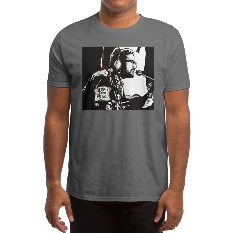 """PEOPLE FOR PEACE"" Men's T-Shirt by VinDavisDesigns"