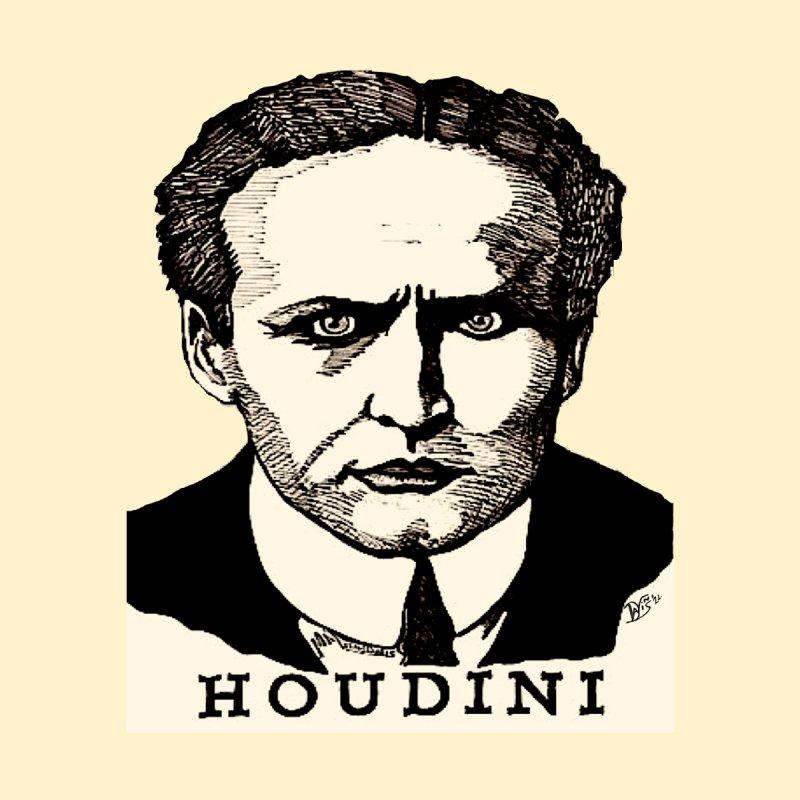 """HOUDINI"" Home Stretched Canvas by VinDavisDesigns"