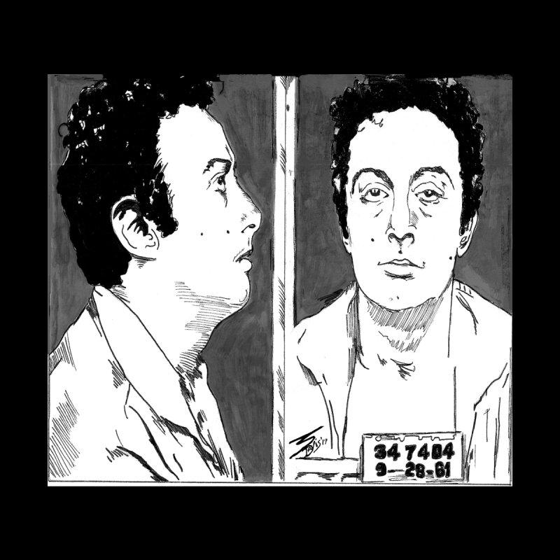 """LENNY BRUCE- """"Mugshot"""" Home Duvet by VinDavisDesigns"""