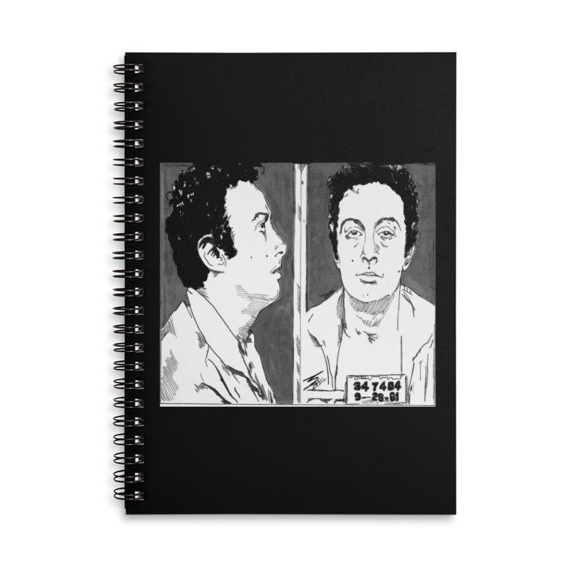 "LENNY BRUCE- ""Mugshot"" Accessories Notebook by VinDavisDesigns"