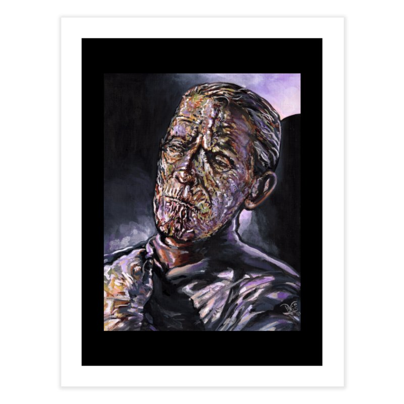 Karloff as Imhotep (The Mummy) Home Fine Art Print by VinDavisDesigns
