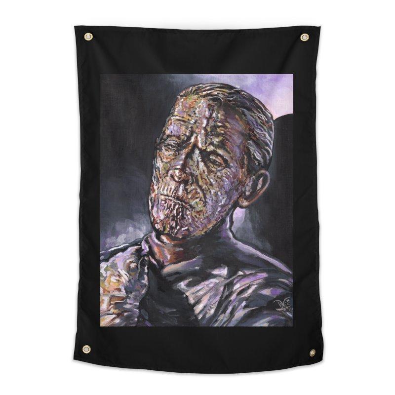 Karloff as Imhotep (The Mummy) Home Tapestry by VinDavisDesigns