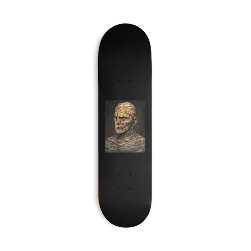 """Karloff """"The Mummy"""" Accessories Skateboard by VinDavisDesigns"""