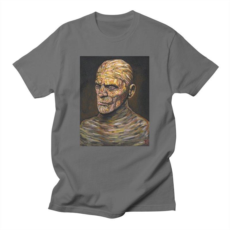 "Karloff ""The Mummy"" Men's T-Shirt by VinDavisDesigns"