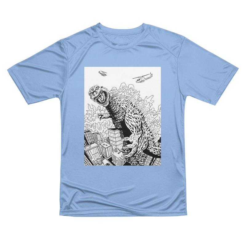 Sue-Zilla! Women's T-Shirt by VinDavisDesigns