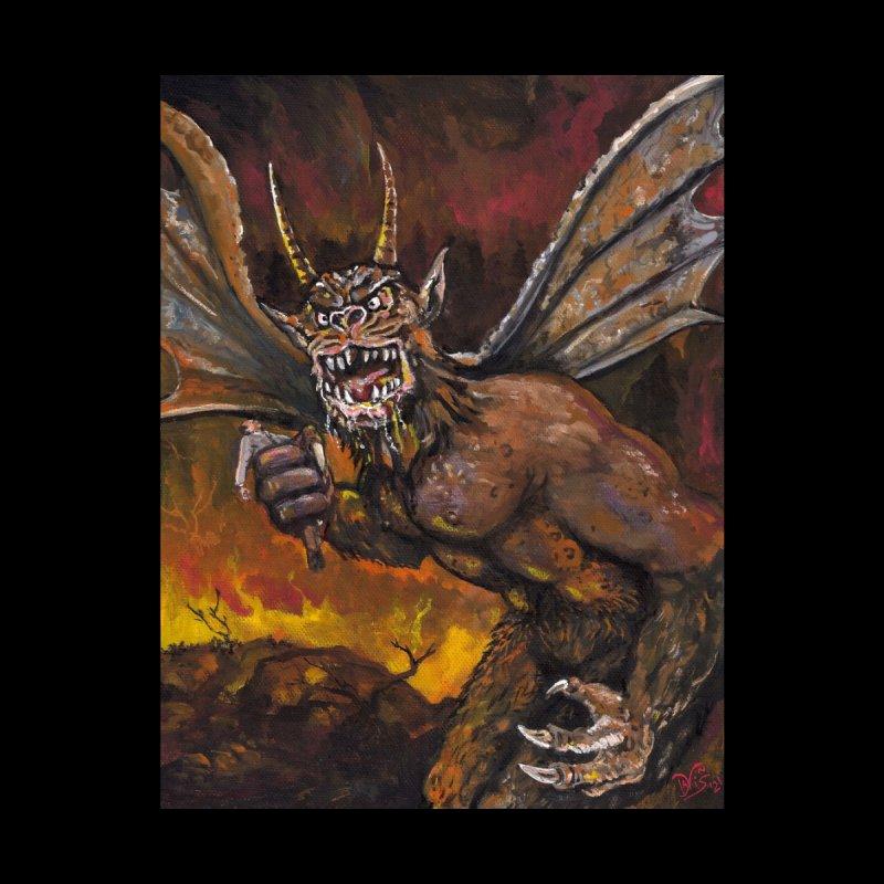 """""""The Demon And His Prey"""" Men's Zip-Up Hoody by VinDavisDesigns"""