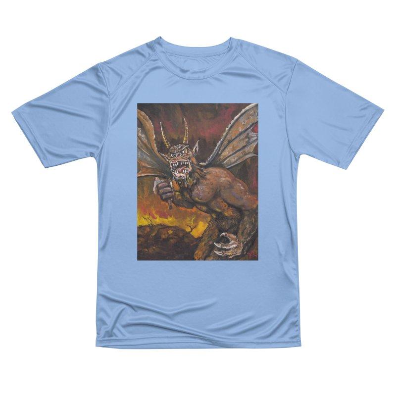 """The Demon And His Prey"" Women's T-Shirt by VinDavisDesigns"