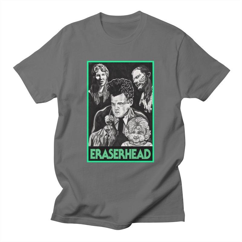 """ERASERHEAD"" Men's T-Shirt by VinDavisDesigns"