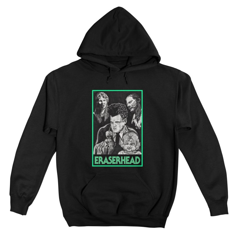 """ERASERHEAD"" Men's Pullover Hoody by VinDavisDesigns"