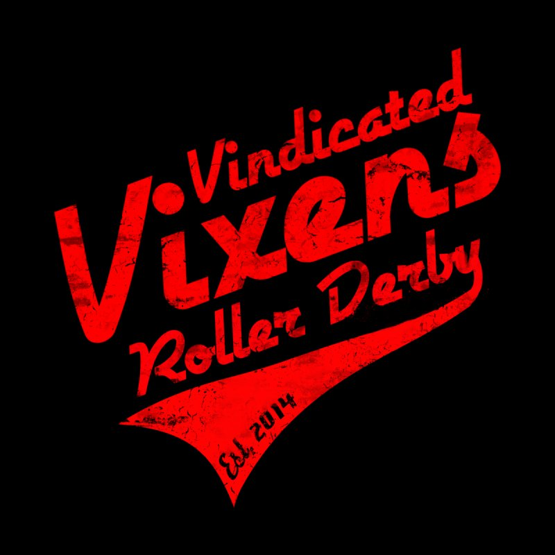 Vintage [Red] by Vindicated Vixens Roller Derby