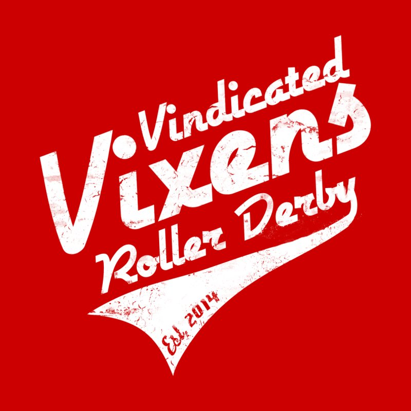 Vintage [White] by Vindicated Vixens Roller Derby