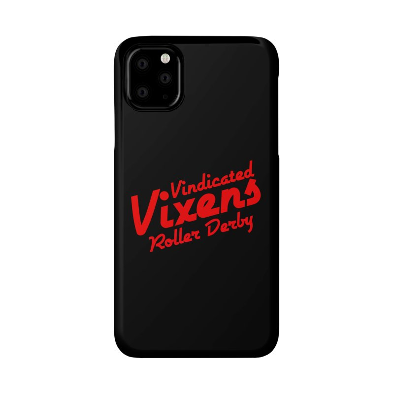 Classic [Red] Accessories Phone Case by Vindicated Vixens Roller Derby