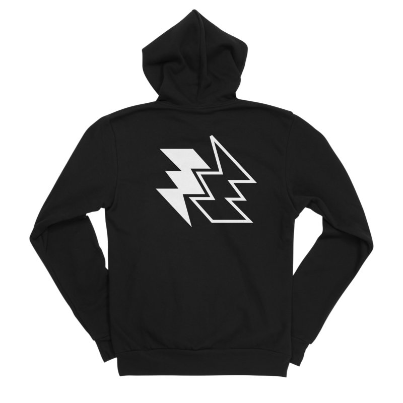GoodLuck/BadLuck Men's Zip-Up Hoody by Vinnie Ray's Apparel Shop