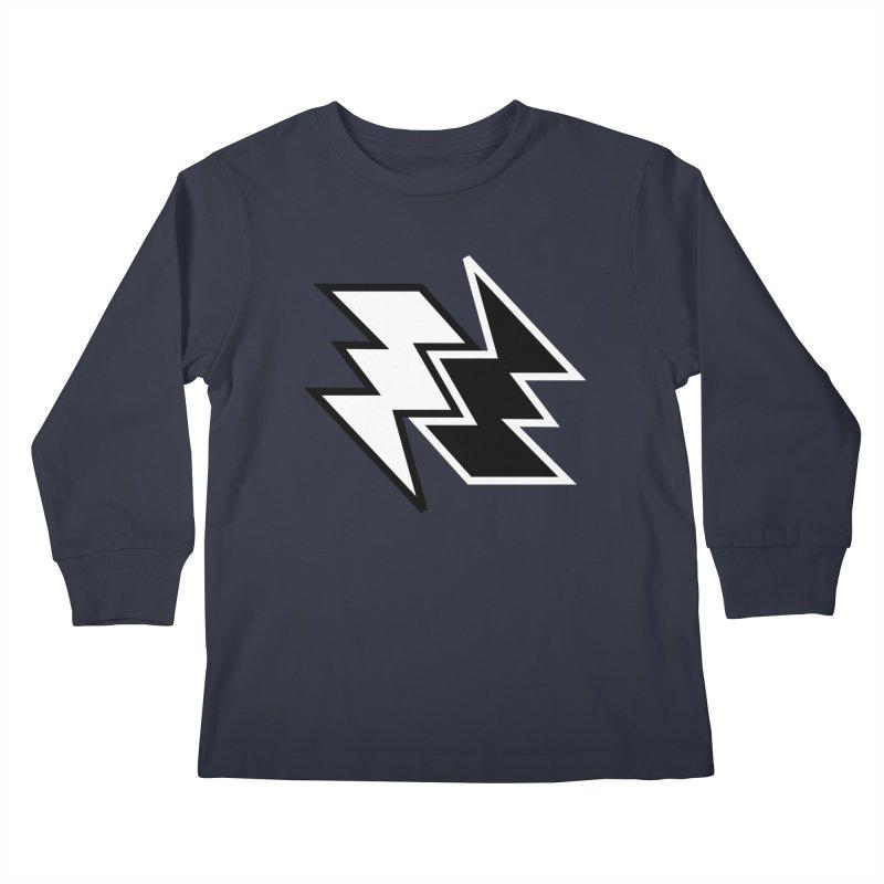 GoodLuck/BadLuck Kids Longsleeve T-Shirt by Vinnie Ray's Apparel Shop