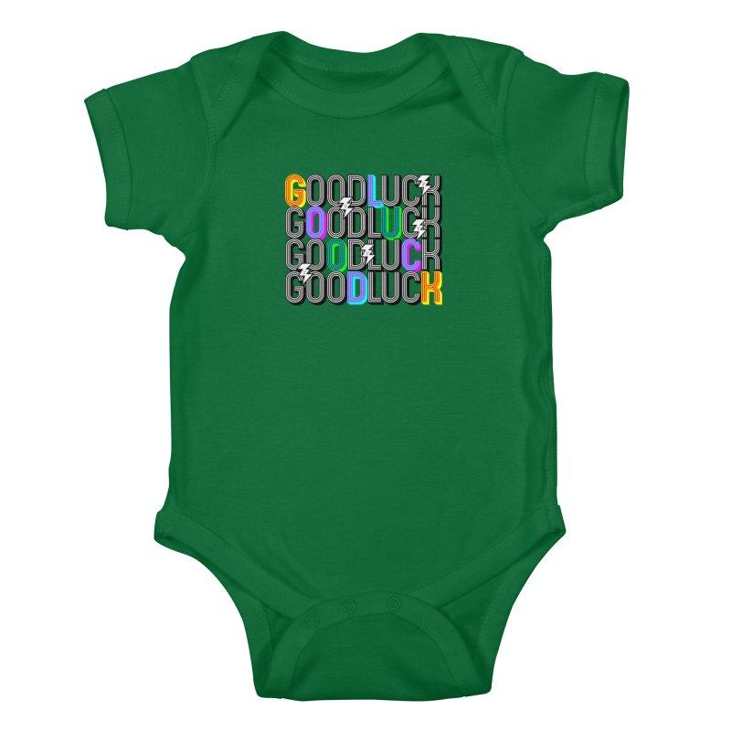 GLGLGLGL Kids Baby Bodysuit by Vinnie Ray's Apparel Shop