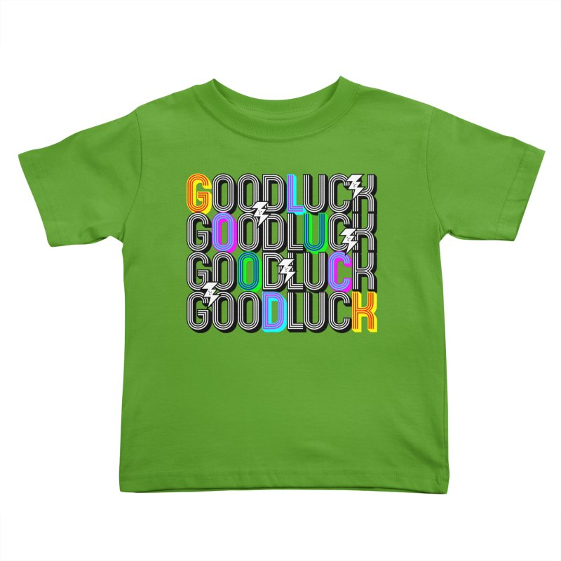 GLGLGLGL Kids Toddler T-Shirt by Vinnie Ray's Apparel Shop