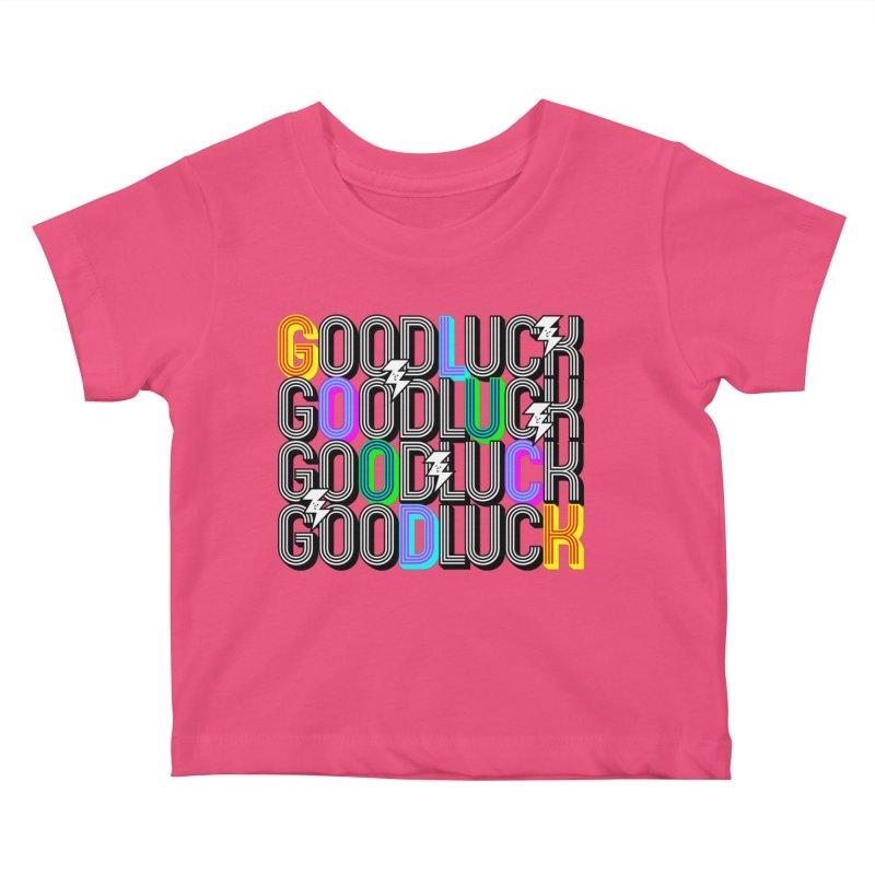 GLGLGLGL Kids Baby T-Shirt by Vinnie Ray's Apparel Shop