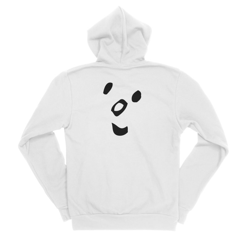 Smile Men's Zip-Up Hoody by Vinnie Ray's Apparel Shop