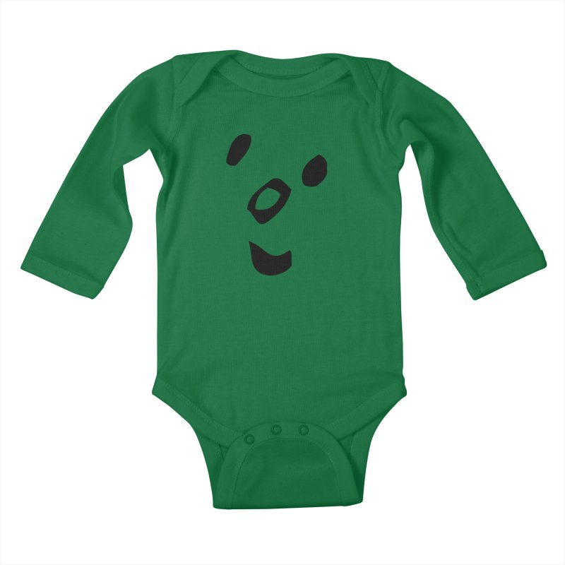 Smile Kids Baby Longsleeve Bodysuit by Vinnie Ray's Apparel Shop