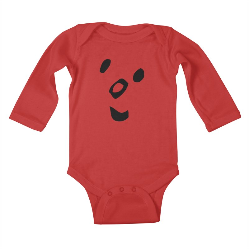Smile Kids Baby Longsleeve Bodysuit by Vinnie Ray's Apparel Shop