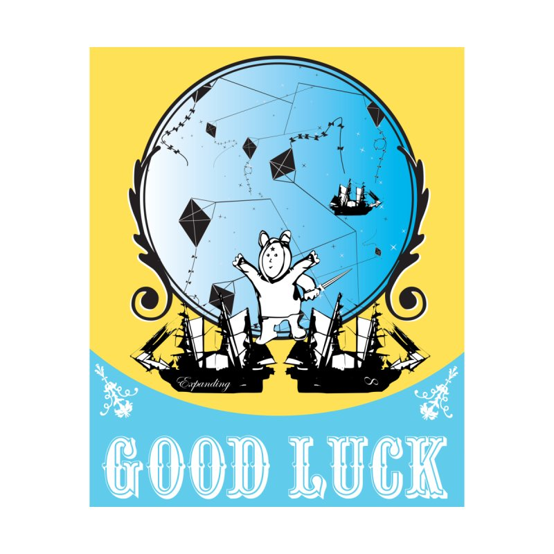 Good Luck Voyager Accessories Sticker by Vinnie Ray's Apparel Shop
