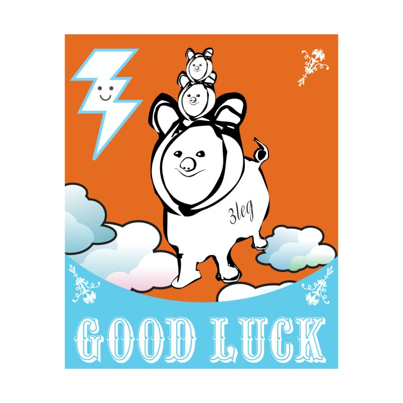 Good Luck Chanchitos Accessories Sticker by Vinnie Ray's Apparel Shop