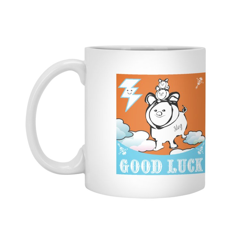Good Luck Chanchitos Accessories Mug by Vinnie Ray's Apparel Shop
