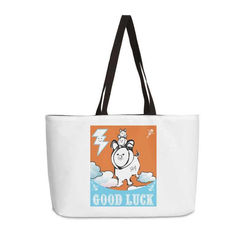 Good Luck Chanchitos Accessories Bag by Vinnie Ray's Apparel Shop