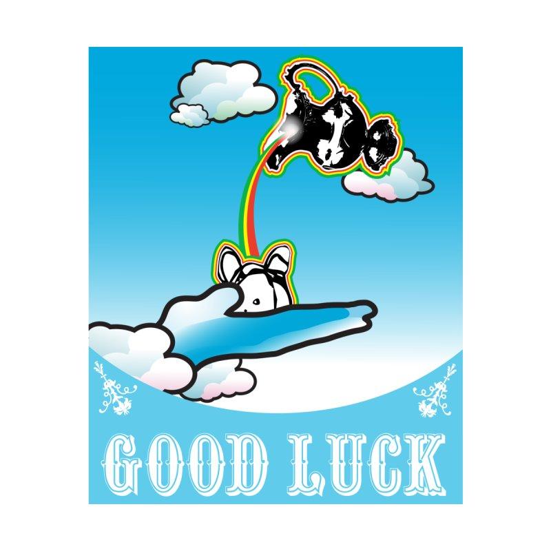 Good Luck Dub Bath Accessories Sticker by Vinnie Ray's Apparel Shop