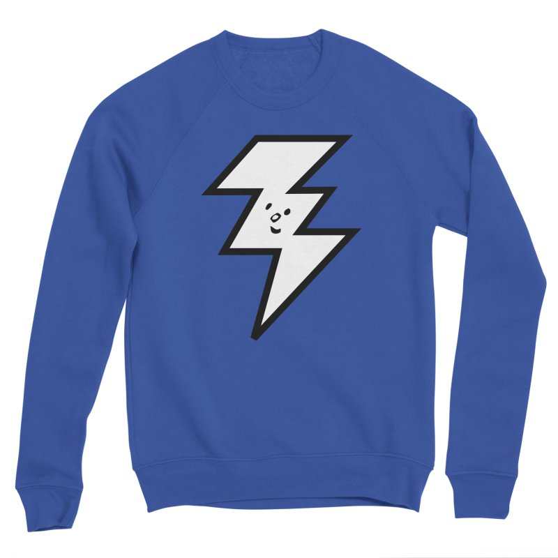 Good Luck Bolt Men's Sweatshirt by Vinnie Ray's Apparel Shop