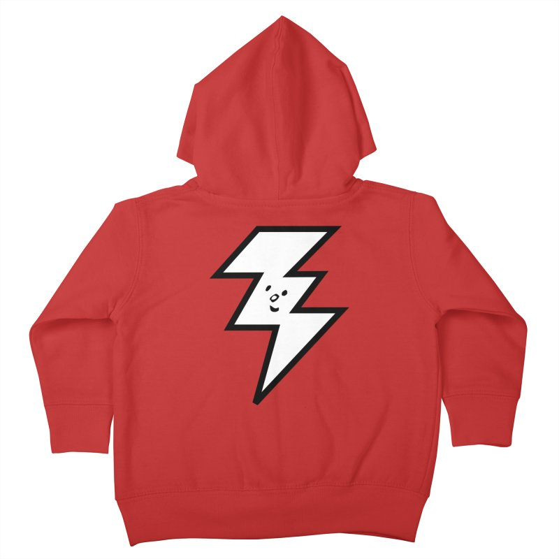 Good Luck Bolt Kids Toddler Zip-Up Hoody by Vinnie Ray's Apparel Shop