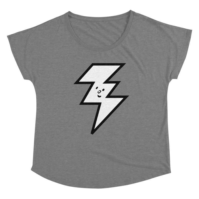 Good Luck Bolt Women's Scoop Neck by Vinnie Ray's Apparel Shop