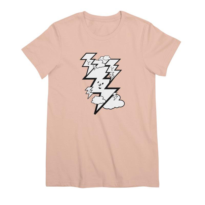 Good Luck Bolt Strike Women's T-Shirt by Vinnie Ray's Apparel Shop